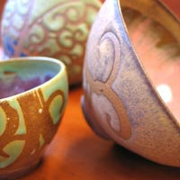 Liz Kinder Ceramics featured at Mackerel Sky Gallery of Contemporary Craft