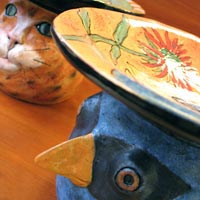 Deb Stabley      Ceramics featured at Mackerel Sky Gallery of Contemporary Craft