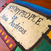 Storypeople featured at Mackerel Sky Gallery of Contemporary Craft